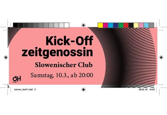 Banner Zeitgenossin Party