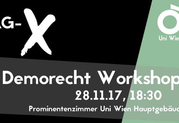 Demorecht Workshop Tag X